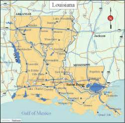 La State Map by Louisiana State Map Printable Images