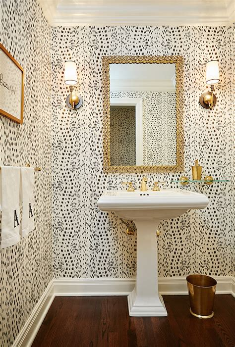 can i wallpaper a bathroom the zhush style stalking amie corley interiors