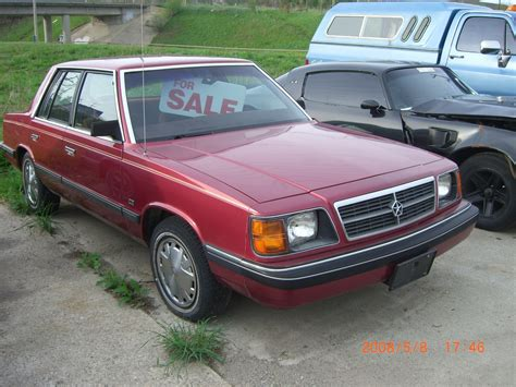 87aries 1987 dodge aries specs photos modification info