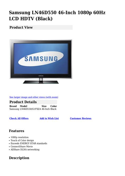 samsung support usa official site samsung lcd tv manual download undergroundwindows