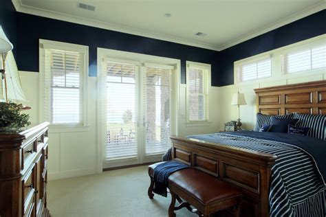 navy blue coastal bedroom design with glossy navy blue impressive navy and coral bedding look grand rapids