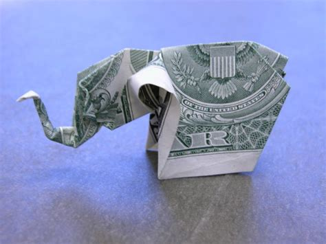 Dollar Bill Elephant Origami - 1000 images about origami money on dollar