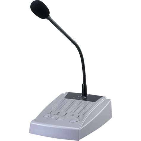 Microphone Chime Toa Zm 100ec toa electronics digital paging microphone with usb pm 20ev us