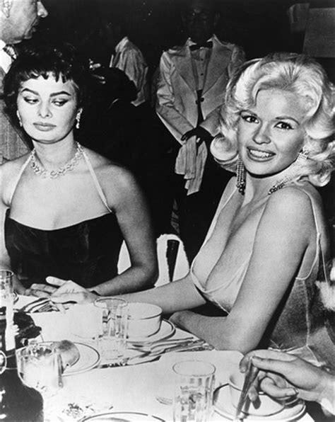 sophia loren jayne mansfield sophia loren and jane mansfield 1957 flickr photo