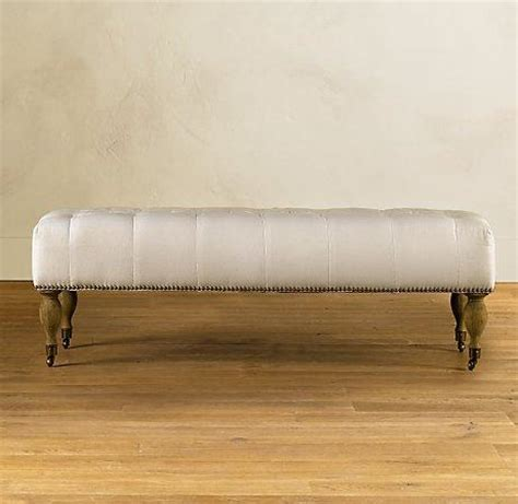 padded ottoman bench tufted bench upholstered chairs ottomans benches