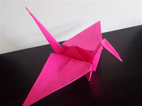 Japanese Crane Origami - the history of origami daily creativity