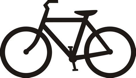 file usdot highway sign bicycle symbol black svg