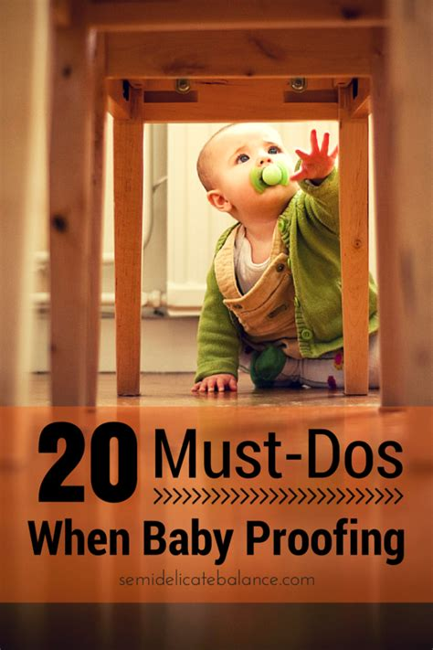dos  baby proofing  house