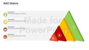 Raci Powerpoint Template by Raci Matrix Editable Ppt Template