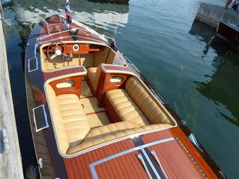 garwood wooden boats upholstery gar wood custom boats
