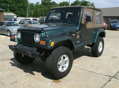 Jeep Wrangler 2000 For Sale Used 2000 Jeep Wrangler For Sale Carsforsale