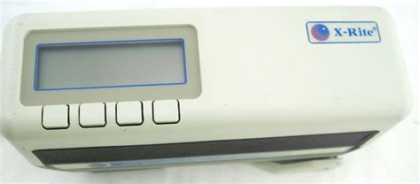 color spectrometer x rite color spectrophotometer sp62 ebay
