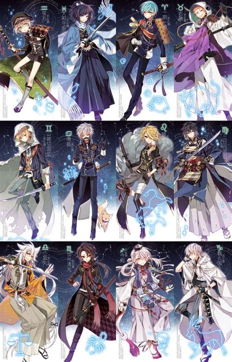 anime zodiac 962 best zodiac images on pinterest signs sakimichan