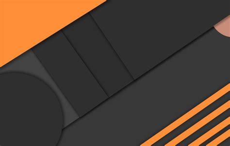 orange black design paper color material design обои геометрия черный design оранжевый color material