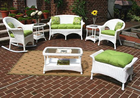 veranda outdoor furniture wicker white veranda outdoor wicker patio furniture