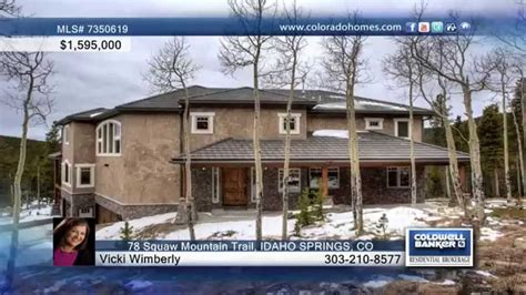78 squaw mountain trail idaho springs co homes for sale