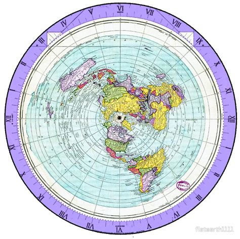 flat earth equidistant map projection quot flat earth map azimuthal equidistant projection map