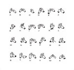 Sign language alphabet chart 9 download free documents in pdf