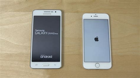 Samsung J5 Vs Grand Prime samsung galaxy grand prime vs iphone 6 which is faster