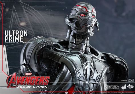 film marvel ultron marvel ultron prime sixth scale figure by hot toys