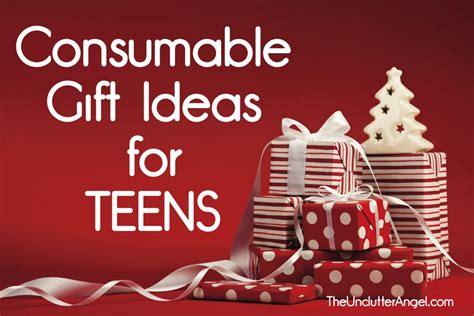 consumable gift ideas cool and useful clutter free gifts for