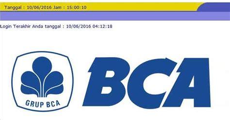 transfer bca  bca  internet banking klikbca