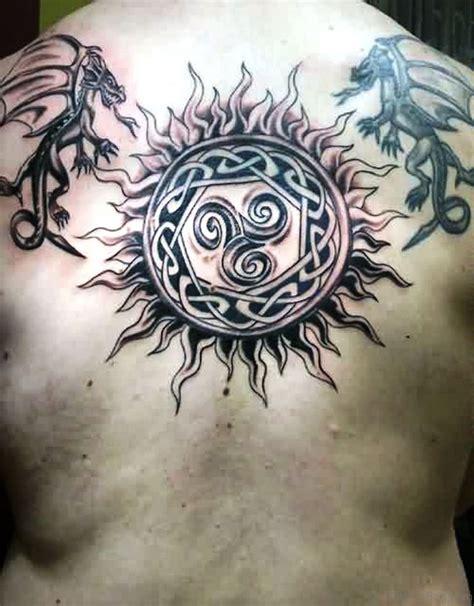 celtic sun tattoo 100 outstanding celtic tattoos for back