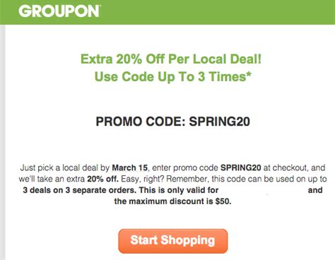Where Can I Buy Groupon Gift Cards - groupon promotion 20 off local deals