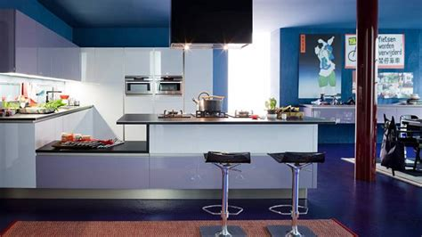 funky kitchen ideas 15 amazingly cool blue kitchen ideas home design lover