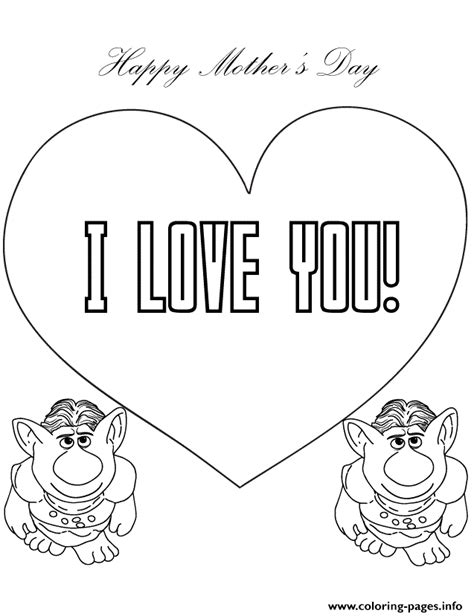 coloring pages that say i you trolls from frozen say i you coloring pages