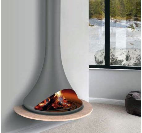 Metal Wood Burning Fireplace by Chazelles Wood Metal Fireplaces