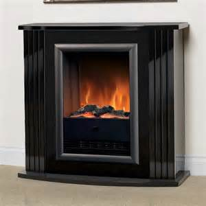 luxury dimplex mozart gloss black optiflame electric