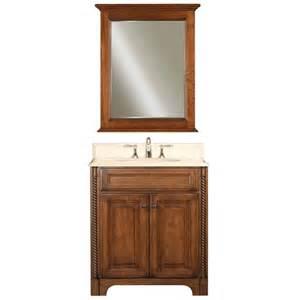 spain golden straw single sink 30 inch bathroom vanity