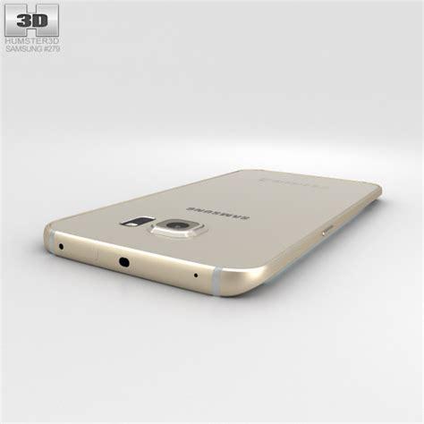 3d Electroplate Grip For Samsung S6 Edge samsung galaxy s6 edge gold platinum 3d model hum3d