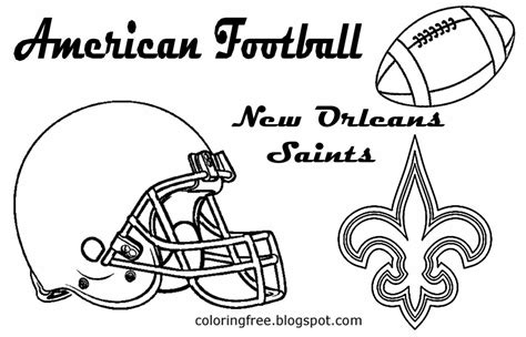 nfl saints coloring pages new orleans saints logo free colouring pages