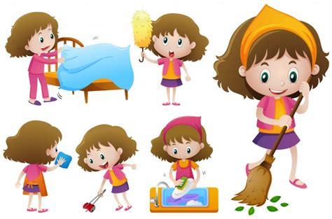 imagenes animadas haciendo tareas ni 241 a haciendo diferentes tareas dom 233 sticas descargar