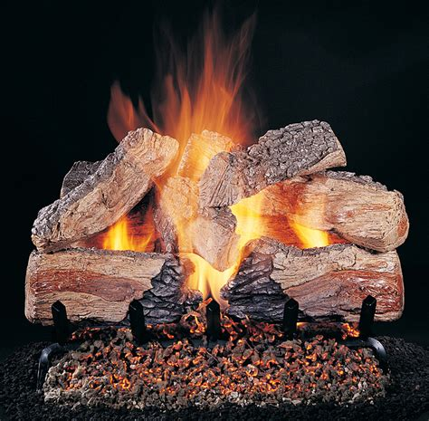 Gas Fireplace Log Sets For Vented Or Ventless Fireplaces