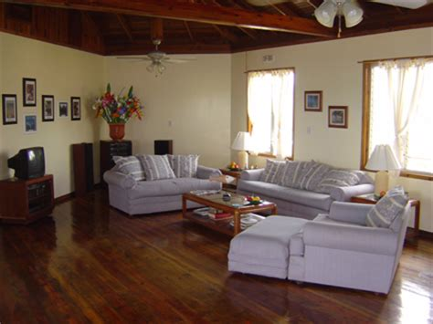 and in livingroom bay house utila the bay islands honduras