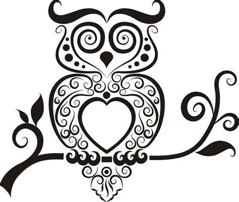 tattoo owl outline owl outline clip art cliparts co
