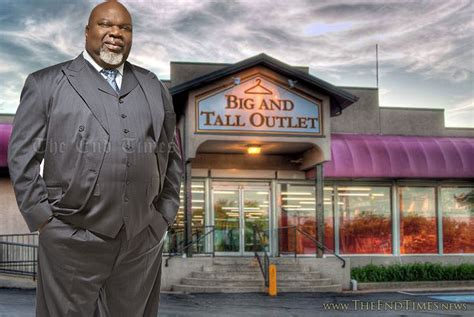 what stores have big and tall sections td jakes launches clothing store chain for big and tall