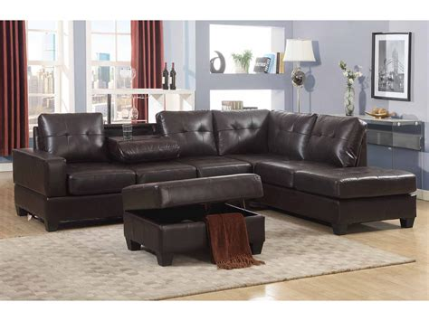 Sectional Sofa With Oversized Ottoman Sectional Ottoman Chocolate Microfiber Sectional Sofa Large Sectional Sofa With Ottoman