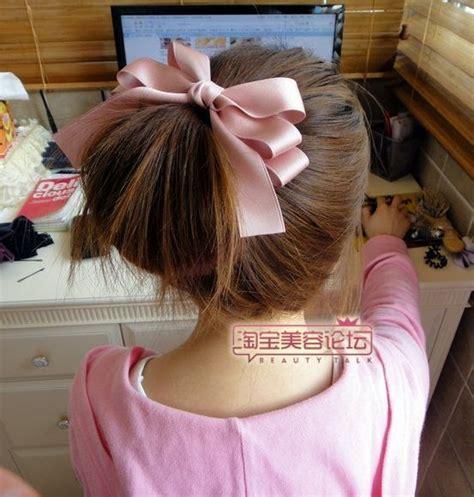 diy ribbon hairstyles zibees com fashion guilt diy tips kawaii hair