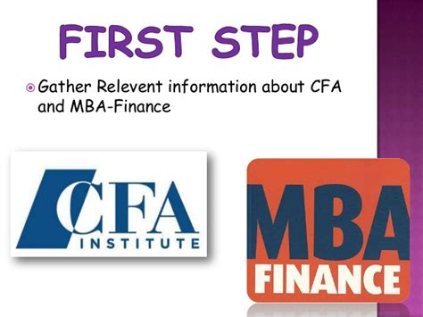 Company For Mba Finance by Chartered Financial Analyst Vs Mba Finance