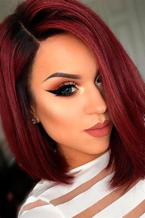 dark red color hair cut best 25 short red hair ideas on pinterest red hair