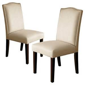 Nailhead Dining Chairs Camelot Nailhead Trim Dining Chair Wood Set Of Target