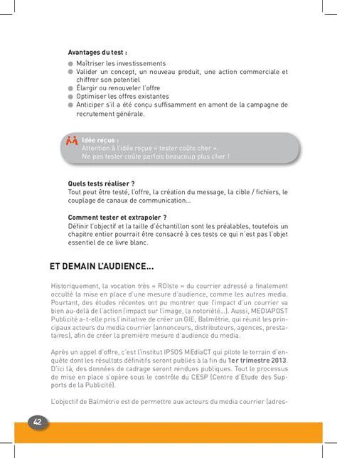 Exemple De Lettre Commerciale Publicitaire R 233 Ussir Un Courrier Publicitaire Adress 233