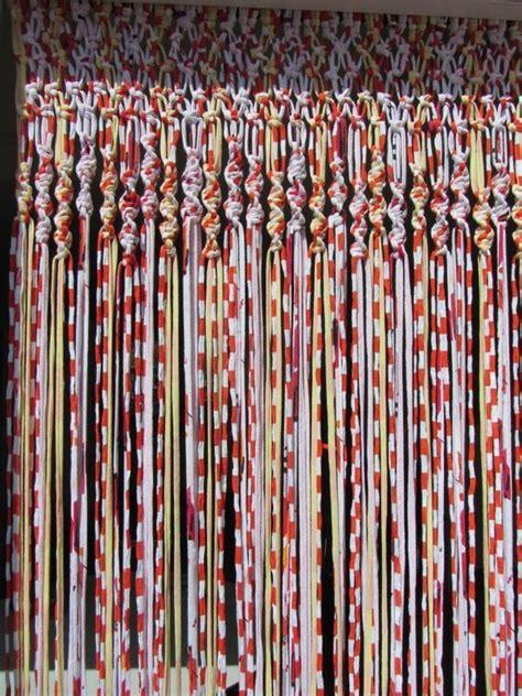 como hacer cortinas de trapillo una tecnica sencilla  funcional