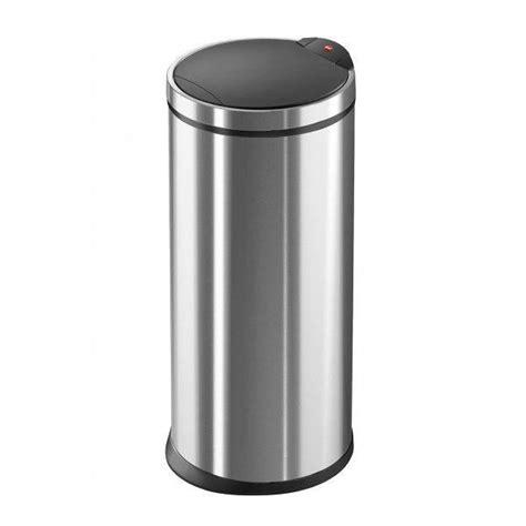 poubelle de cuisine touchbin 20 l inox achat vente