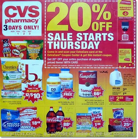 you saved how much cvs ad scan 2 different sales week of 10 28 11 3