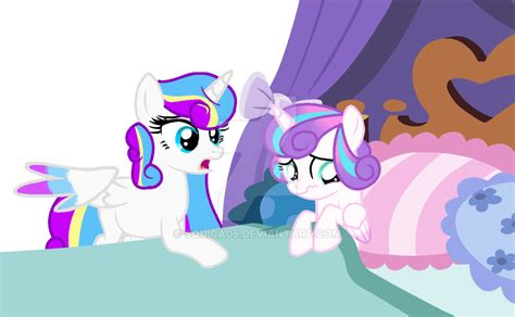 Mc 11 C Twilight Sparkle mlp next and flurry by squica05